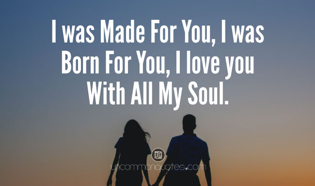 Meaningful Feeling Deep Love Quotes