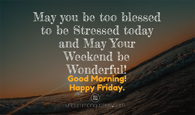 friday blessings quotes
