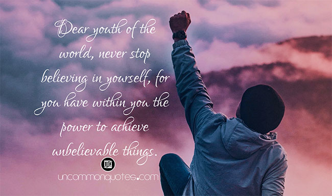 Motivational Quotes for Christian Youth