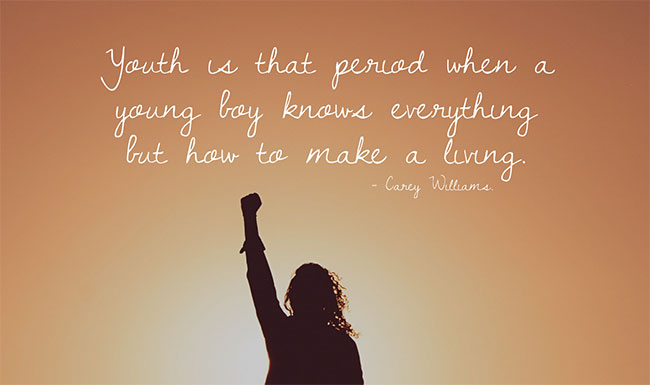 Power of Youth Quotes