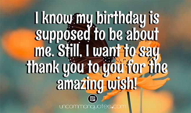 Thank You Reply for Birthday Wishes to Best Friend