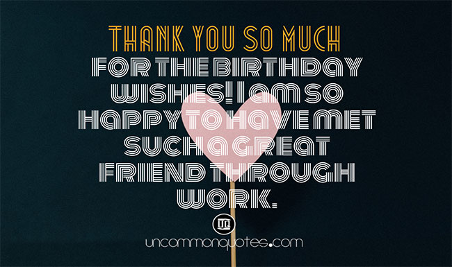 Thanks Message for Birthday Wishes for Best Friend